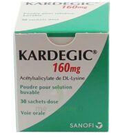 KARDEGIC 160 mg, poudre pour solution buvable en sachet à AMBARÈS-ET-LAGRAVE