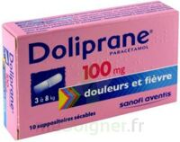 DOLIPRANE 100 mg Suppositoires sécables 2Plq/5 (10) à AMBARÈS-ET-LAGRAVE
