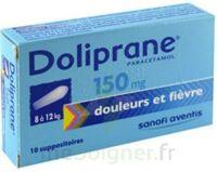 DOLIPRANE 150 mg Suppositoires 2Plq/5 (10) à AMBARÈS-ET-LAGRAVE