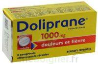 DOLIPRANE 1000 mg Comprimés effervescents sécables T/8 à AMBARÈS-ET-LAGRAVE