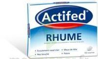 ACTIFED RHUME, comprimé à AMBARÈS-ET-LAGRAVE