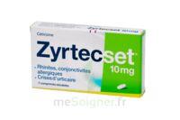 ZYRTECSET 10 mg, comprimé pelliculé sécable à AMBARÈS-ET-LAGRAVE