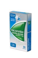 NICORETTE 4 mg Gom à mâcher médic sans sucre menthe glaciale Plq/30gom à AMBARÈS-ET-LAGRAVE