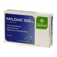 MILDAC 600 mg, comprimé enrobé à AMBARÈS-ET-LAGRAVE