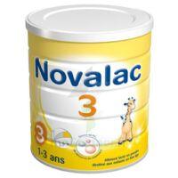 Novalac 3 Croissance lait en poudre 800g à AMBARÈS-ET-LAGRAVE