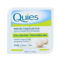 QUIES PROTECTION AUDITIVE CIRE NATURELLE 8 PAIRES à AMBARÈS-ET-LAGRAVE