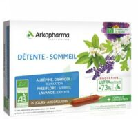 Arkofluide Bio Ultraextract Solution buvable détente sommeil 20 Ampoules/10ml à AMBARÈS-ET-LAGRAVE