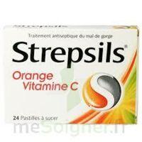 STREPSILS ORANGE VITAMINE C, pastille à AMBARÈS-ET-LAGRAVE