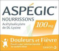 ASPEGIC NOURRISSONS 100 mg, poudre pour solution buvable en sachet-dose à AMBARÈS-ET-LAGRAVE