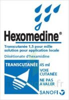 HEXOMEDINE TRANSCUTANEE 1,5 POUR MILLE, solution pour application locale à AMBARÈS-ET-LAGRAVE