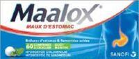 MAALOX HYDROXYDE D'ALUMINIUM/HYDROXYDE DE MAGNESIUM 400 mg/400 mg Cpr à croquer maux d'estomac Plq/60 à AMBARÈS-ET-LAGRAVE