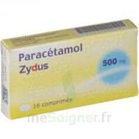 PARACETAMOL ZYDUS 500 mg, comprimé à AMBARÈS-ET-LAGRAVE