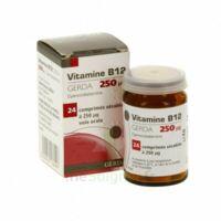VITAMINE B12 GERDA 250 microgrammes, comprimé sécable à AMBARÈS-ET-LAGRAVE