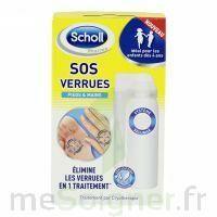 Scholl SOS Verrues traitement pieds et mains à AMBARÈS-ET-LAGRAVE