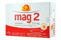 MAG 2 122 mg S buv en ampoule sans sucre édulcoré à la saccharine sodique 30Amp/10ml à AMBARÈS-ET-LAGRAVE