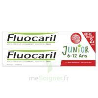 Fluocaril Junior Gel dentifrice Fruits rouges 6/12ans 2*75ml à AMBARÈS-ET-LAGRAVE