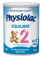 PHYSIOLAC EQUILIBRE 2 Lait pdre B/900g à AMBARÈS-ET-LAGRAVE