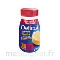 DELICAL BOISSON HP HC CONCENTREE Nutriment vanille 4Bouteilles/200ml à AMBARÈS-ET-LAGRAVE