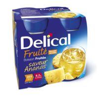 DELICAL BOISSON FRUITEE Nutriment ananas 4Bouteilles/200ml à AMBARÈS-ET-LAGRAVE