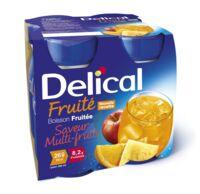 DELICAL BOISSON FRUITEE Nutriment multi fruits 4Bouteilles/200ml à AMBARÈS-ET-LAGRAVE