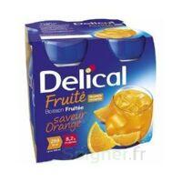 DELICAL BOISSON FRUITEE Nutriment orange 4Bouteilles/200ml à AMBARÈS-ET-LAGRAVE