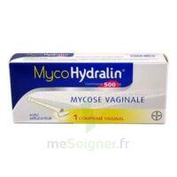 MYCOHYDRALIN 500 mg, comprimé vaginal à AMBARÈS-ET-LAGRAVE