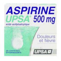 ASPIRINE UPSA 500 mg, comprimé effervescent à AMBARÈS-ET-LAGRAVE