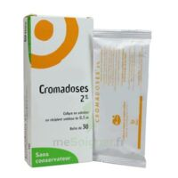 CROMADOSES 2 POUR CENT, collyre en solution en récipient unidose à AMBARÈS-ET-LAGRAVE