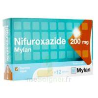 NIFUROXAZIDE MYLAN 200 mg, 12 gélules à AMBARÈS-ET-LAGRAVE