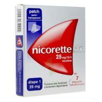 Nicoretteskin 25 mg/16 h Dispositif transdermique B/28 à AMBARÈS-ET-LAGRAVE