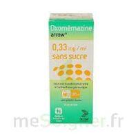 OXOMEMAZINE ARROW 0,33 mg/ml SANS SUCRE, solution buvable édulcorée à l'acésulfame potassique à AMBARÈS-ET-LAGRAVE