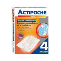 Actipoche Patch chauffant douleurs musculaires B/4 à AMBARÈS-ET-LAGRAVE