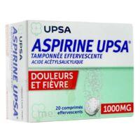 ASPIRINE UPSA TAMPONNEE EFFERVESCENTE 1000 mg, comprimé effervescent à AMBARÈS-ET-LAGRAVE