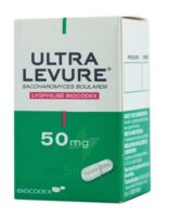 ULTRA-LEVURE 50 mg Gélules Fl/50 à AMBARÈS-ET-LAGRAVE