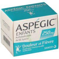 ASPEGIC ENFANTS 250, poudre pour solution buvable en sachet-dose à AMBARÈS-ET-LAGRAVE