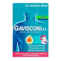 GAVISCONELL Suspension buvable sachet-dose menthe sans sucre 12Sach/10ml à AMBARÈS-ET-LAGRAVE