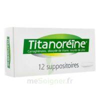 TITANOREINE Suppositoires B/12 à AMBARÈS-ET-LAGRAVE
