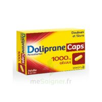 DOLIPRANECAPS 1000 mg Gélules Plq/8 à AMBARÈS-ET-LAGRAVE