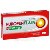 NUROFENFLASH 400 mg Comprimés pelliculés Plq/12 à AMBARÈS-ET-LAGRAVE