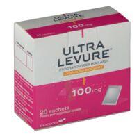 ULTRA-LEVURE 100 mg Poudre pour suspension buvable en sachet B/20 à AMBARÈS-ET-LAGRAVE