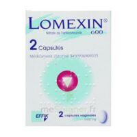LOMEXIN 600 mg Caps molle vaginale Plq/2 à AMBARÈS-ET-LAGRAVE