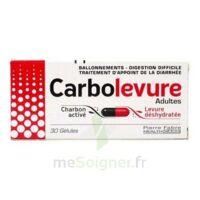 CARBOLEVURE Gélules adulte Plq/30 à AMBARÈS-ET-LAGRAVE