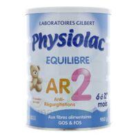 Physiolac Equilibre AR 2 Lait poudre 900g à AMBARÈS-ET-LAGRAVE