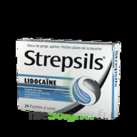 Strepsils lidocaïne Pastilles Plq/24 à AMBARÈS-ET-LAGRAVE