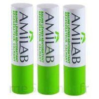 Amilab Baume labial réhydratant et calmant lot de 3 à AMBARÈS-ET-LAGRAVE