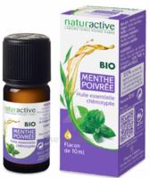 Naturactive Huile essentielle bio Menthe poivrée Fl/10ml à AMBARÈS-ET-LAGRAVE