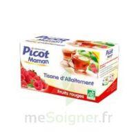 Picot Maman Tisane d'allaitement Fruits rouges 20 Sachets à AMBARÈS-ET-LAGRAVE