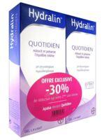 Hydralin Quotidien Gel lavant usage intime 2*200ml à AMBARÈS-ET-LAGRAVE