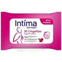 Intima Gyn'Expert Lingettes Cranberry Paquet/30 à AMBARÈS-ET-LAGRAVE