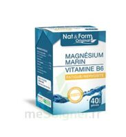 Nat&Form Expert Magnésium+Vitamine B6 Gélules B/40 à AMBARÈS-ET-LAGRAVE